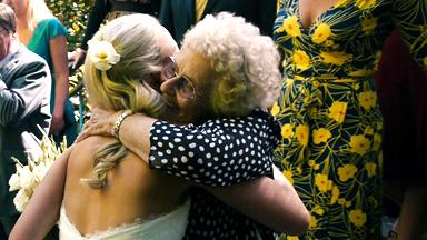 Nan hugs